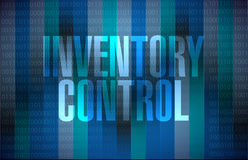 Inventory control message sign concept Stock Images