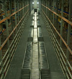 Warehouse in Inventory Park Royalty Free Stock Image