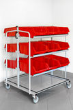 Inventory trolley Royalty Free Stock Photo