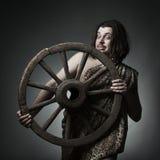 Invenzione della ruota Fotografie Stock