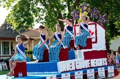 Inver Grove Heights Royalty at Parade Royalty Free Stock Photos