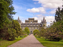 Inverarary castle Stock Image