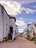 Inverarary village Royalty Free Stock Photo