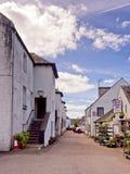 Inverarary village Royalty Free Stock Photo