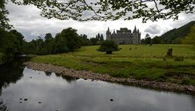 Inveraray城堡,苏格兰,英国 库存照片
