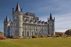 Inveraray Castle. In Argyllshire, Scotland Stock Images