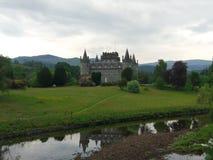 Inveraray. Castle scotland princess fairytale Royalty Free Stock Photos