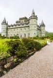 Inveraray Castle 28th August 2015, Inveraray, Argyle, Scotland Stock Images