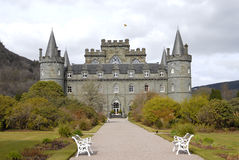 inveraray slott Royaltyfria Foton