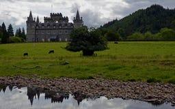 Inveraray slott, Skottland, Förenade kungariket Royaltyfri Foto