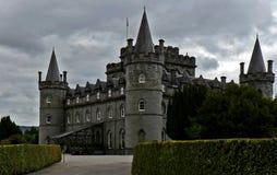 Inveraray slott, Skottland, Förenade kungariket Arkivfoton