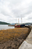 Inverary harbour Royalty Free Stock Photo