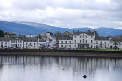 Inverary Waterfront Stock Image
