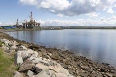 invergordon πλατφόρμα άντλησης πετρελαίου Στοκ Εικόνα
