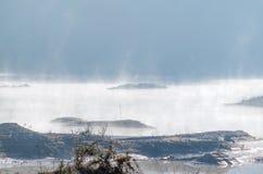 Inverkan av klimatförändring som göras torrt land, vattenbrister royaltyfria foton