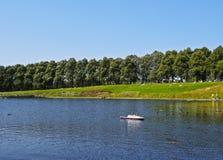 Inverleith公园在爱丁堡 库存照片