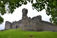 Inverlochy Castle near Fort William in Scotland, United Kingdom royalty free stock photography
