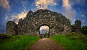Inverlochy Castle Royalty Free Stock Photography