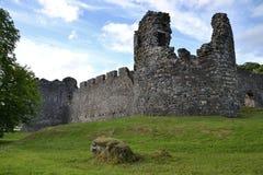 Inverlochy Grodowy pobliski fort William w Szkocja, Zjednoczone Królestwo zdjęcie stock