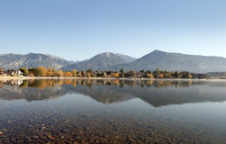 Invermere Lake Royalty Free Stock Photo