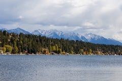 Invermere Na jeziorze Obraz Royalty Free