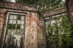 Invernadero abandonado Foto de archivo