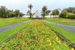 Invernadero de flores, San Francisco Imagenes de archivo