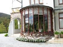 Invernadero del castillo Foto de archivo libre de regalías