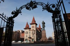 Invernadero del estado de Saratov Foto de archivo libre de regalías