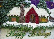 Invernadero del hotel de Bellagio y jardines botánicos Foto de archivo libre de regalías