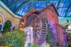 Invernadero del hotel de Bellagio y jardines botánicos Imágenes de archivo libres de regalías