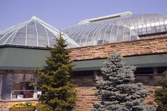 Invernadero del parque de Lincoln Imagen de archivo