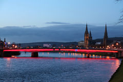 Inverness. Photo stock