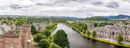 Free Inverness At Cloudy Weather In Summer, Scotland Royalty Free Stock Images - 100761629