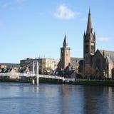 Inverness au printemps Photos stock