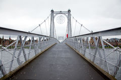 Inverness bro Skottland Royaltyfri Bild