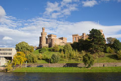 Inverness Castle and River Ness Stock Photography