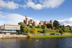 Inverness Castle and River Ness Royalty Free Stock Photo