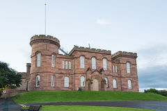 Inverness Castle, Scotland Stock Photography