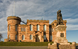 Inverness Castle South Frontage Scotland Royalty Free Stock Photo