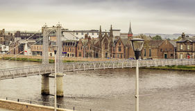 Inverness city center Stock Images