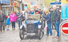 Inverness Classic vehicle rally Royalty Free Stock Image