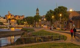 Inverness en el crepúsculo Foto de archivo