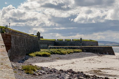 INVERNESS, HIGHLANDS/SCOTLAND - AUGUST 28 : Fort George near inveness Highlands Scotland on August 28, 2015 stock photos