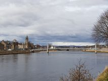 Inverness i Skottland Royaltyfri Foto