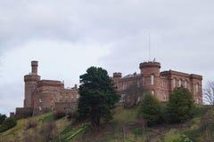 Inverness i Skottland Royaltyfri Fotografi