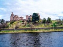 Inverness i Skottland Royaltyfria Bilder