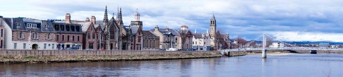 Inverness i Skottland Arkivbild