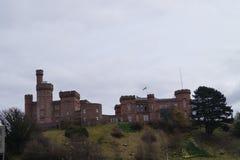 Inverness i Skottland Arkivfoto