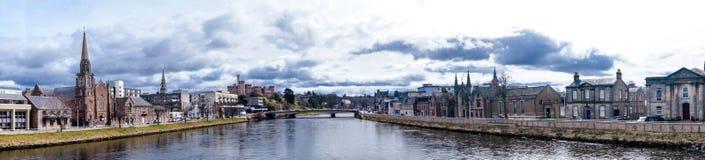 Inverness i Skottland Royaltyfri Bild